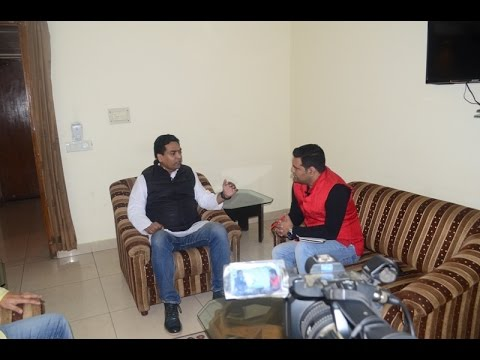Kapil Mishra In Moments With Rudra