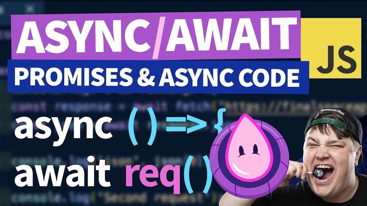 How to use Async / Await to Create Promises in JavaScript
