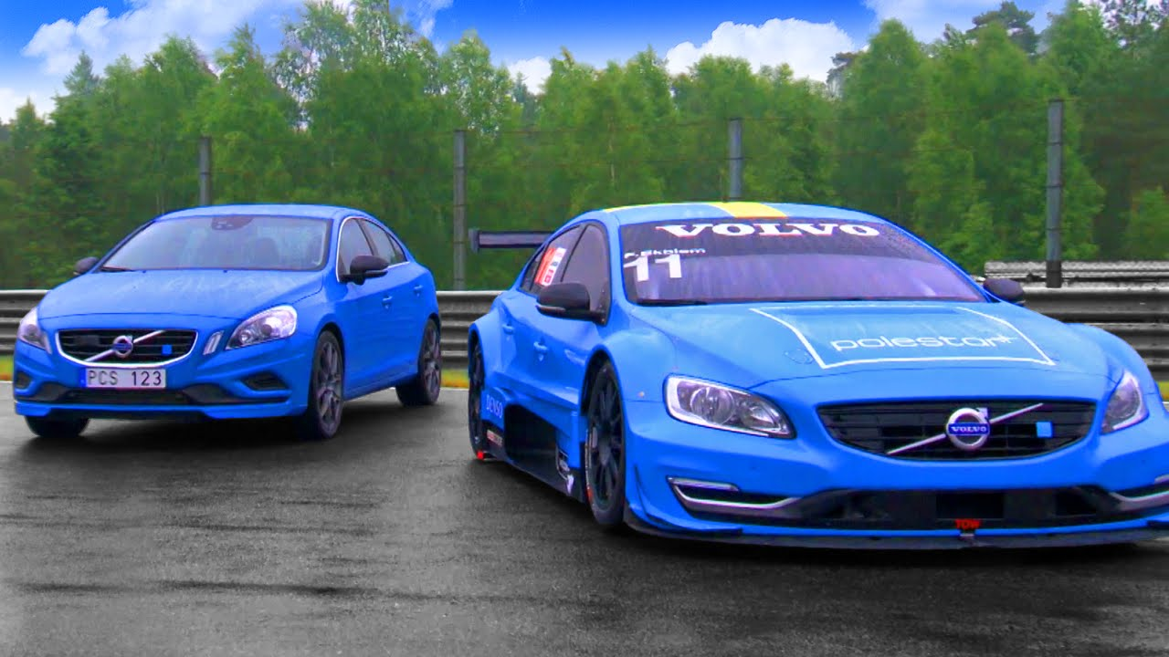 Volvo Polestar Race Car Vs Road Car Fifth Gear Youtube