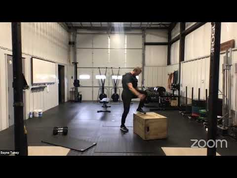 Live Workout Wednesday, June 17th