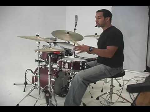 Clave on a Drumkit by Antonio Sanchez