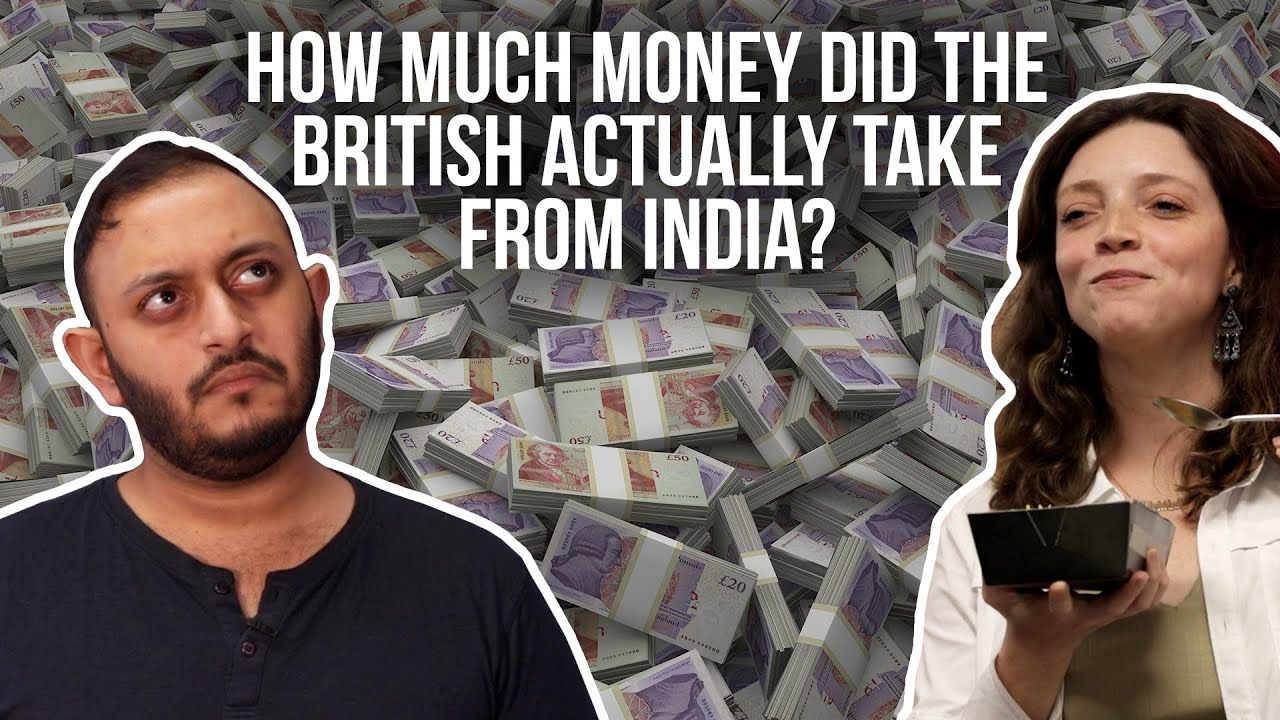 How Much Money Did The British Actually Take From India | Ft  Andre Borges  | BuzzFeed India