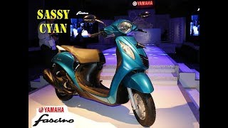 Fascino Sassy Cyan First Expert Review || 113 cc || New Color 2017 Model