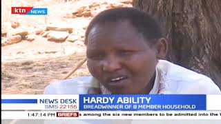 Hardy ability: 45 years old crippled by rare condition