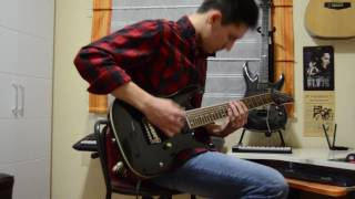 five finger death punch bad company guitar cover by r k