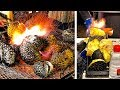 black durian flame grilled with a blowtorch a new way of eating your favourite durian