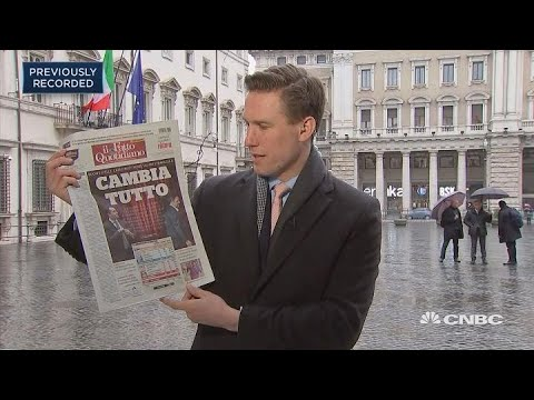 Local press reacts to the Italian election result | In The News