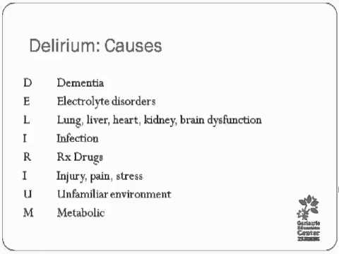 Dementia Vs. Delirium Diagnosis Makes A Difference Sometimes_PART ...