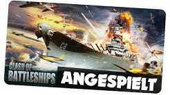CLASH OF BATTLESHIPS - ANGESPIELT [German/Deutsch iOS Android APP]