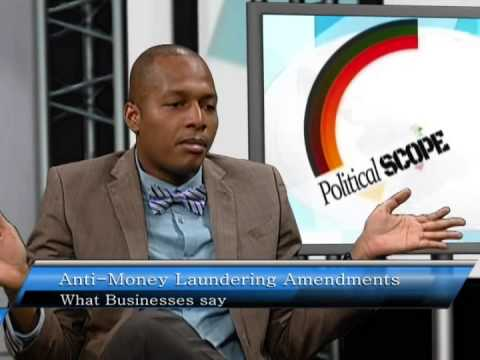 Political Scope Anti Money Laundering Amendments, What Businesses say