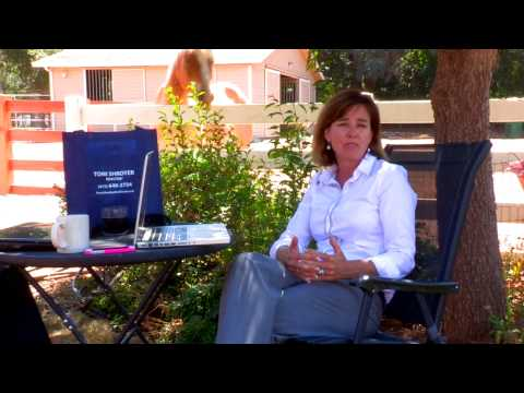 Toni Shroyer, Marin's premier real estate agent talks about