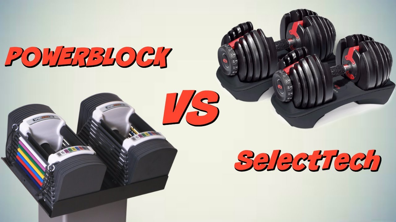 Power Block 10 90 Vs Bowflex Select Tech Dumbbells Review