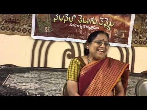 Ponnapalli Jayasri presents her contributions to Telugu literature