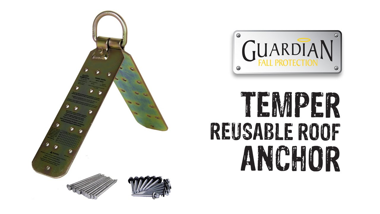 Guardian Temper Reusable Roof Anchor Gme Supply Youtube
