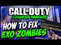 Advanced Warfare Zombies - HOW TO FIX ERROR CODE/PLAY EXO ZOMBIES (COD AW glitches)