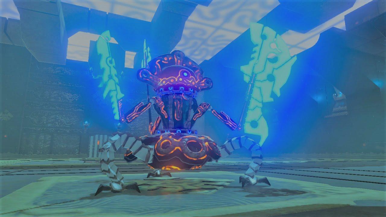 Botw A Major Test In Strength Shrine Hyrule Castle Warp Youtube