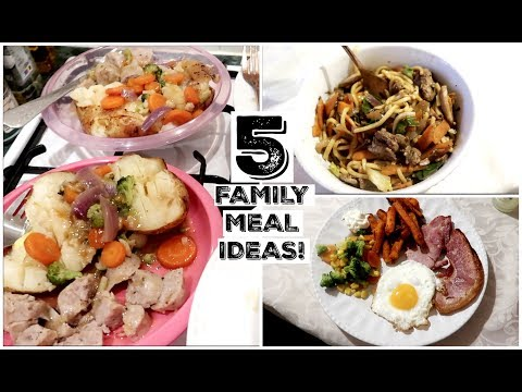 5  FAMILY DINNER IDEAS | FAMILY MEAL INSPIRATION | KERRY CONWAY