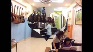 học đàn piano guitar ukulele ... trong 1 tháng hè