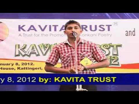 Konkani Poems I Derick Manoj Machado / Gladys Rego I Konkani Poetry Reciting Comp 2012