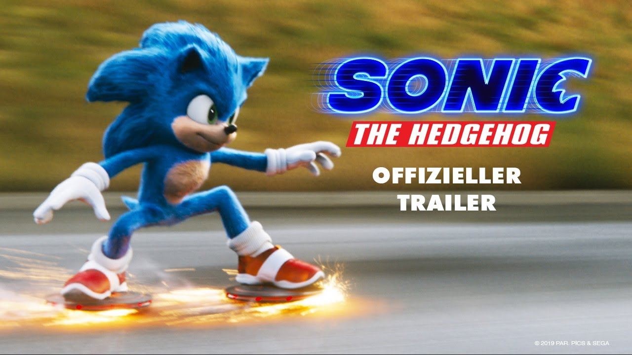 SONIC THE HEDGEHOG | OFFIZIELLER TRAILER |