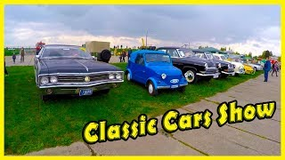 Classic Cars Show: Audi, Nissan, Gaz, Mercedes Benz, Jeep, Lada and Also. Motor Shows