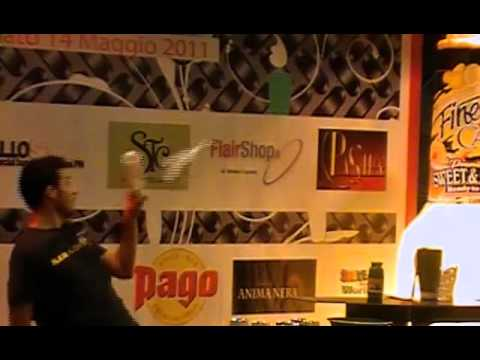 Barman Flair 4 - Final - Matteo Melara 2nd