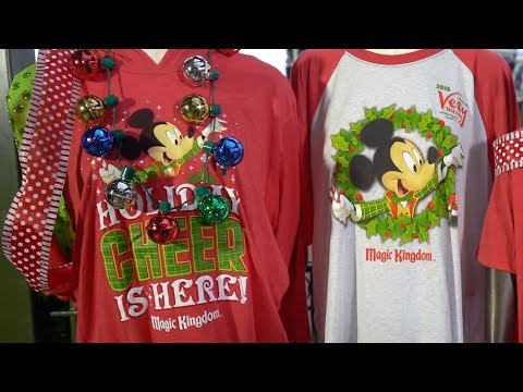 Exclusive Merchandise at Mickey's Very Merry Christmas Party 2018
