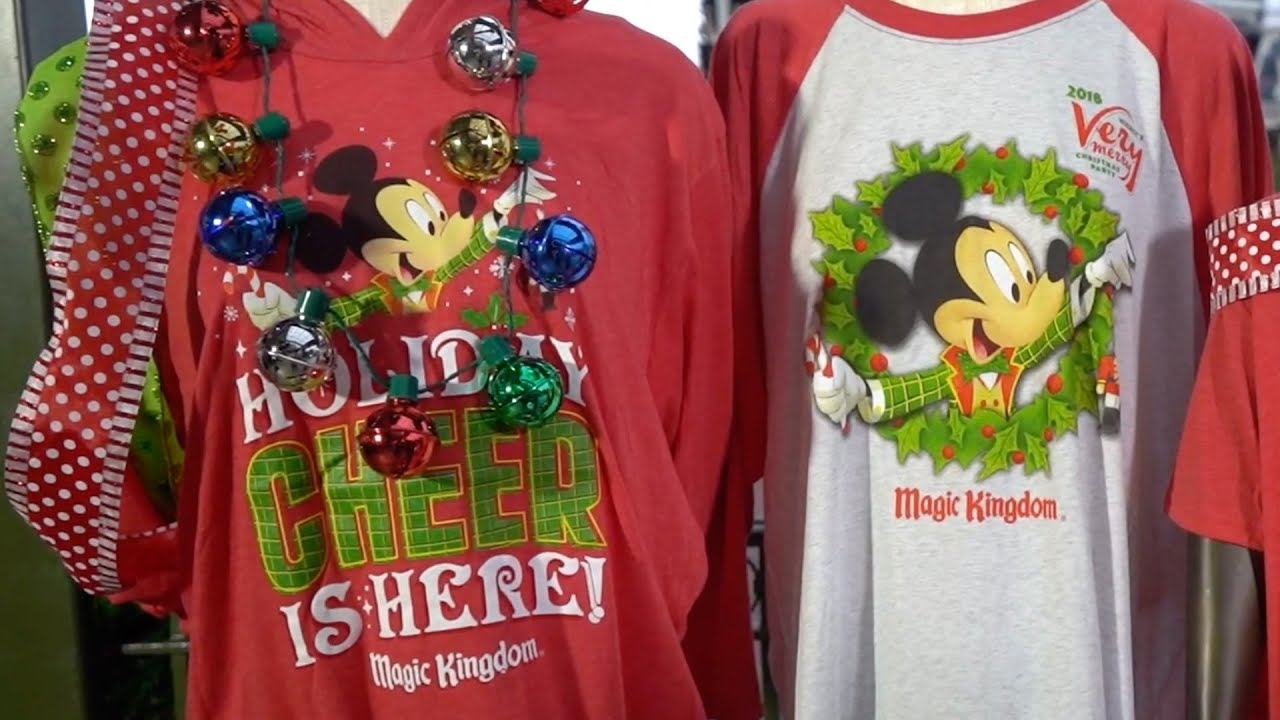 Mickeys Very Merry Christmas Party Merchandise.Exclusive Merchandise At Mickey S Very Merry Christmas Party 2018