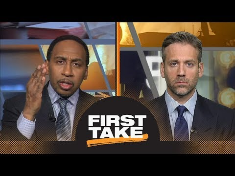 Stephen A. Smith sad over Carm utah jazz