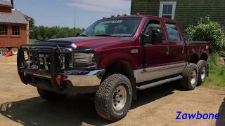 Custom Ford F-250 by USA 6x6 (The truck that couldn't climb a hill in viral video)