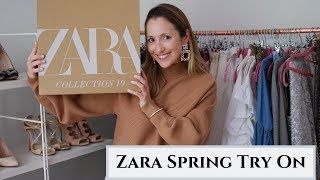 Spring Zara Haul and Try On
