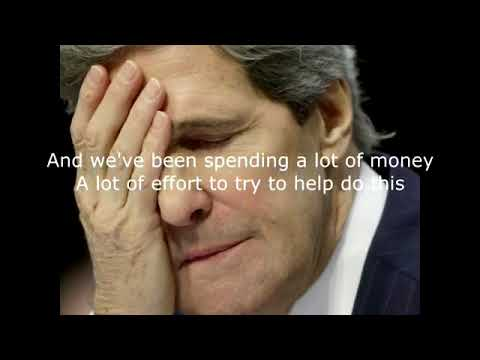 Leaked Tape! #JohnKerry Admits #US Allowed Rise Of ISIS To Force Pres. #Assad Out Of Power