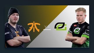 CS:GO - Fnatic vs. OpTic [Inferno] Map 1 - Quarterfinal - ESL Pro League Season 6 Finals
