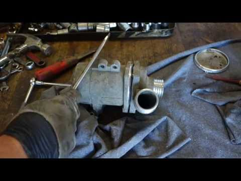 How to disassemble BMW electric water pump  Engine coolant
