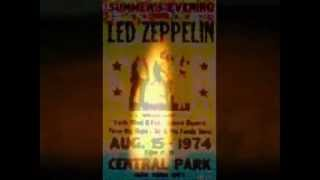 Led Zeppelin - Sitting Here Thinking About My Baby -  (LIVE)