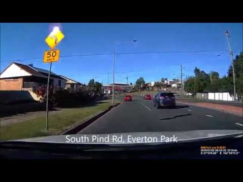 Driving in Brisbane Australia from North Suburbs to Gold Coast-part1 驾车游布里斯班 从北区去黄金海岸