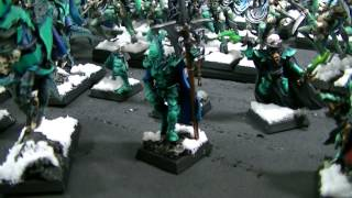 Ice Elves- Blue Table Painting