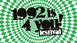 1992 is 4 you! festival 2016 trailer
