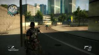 Just Cause 2 people running
