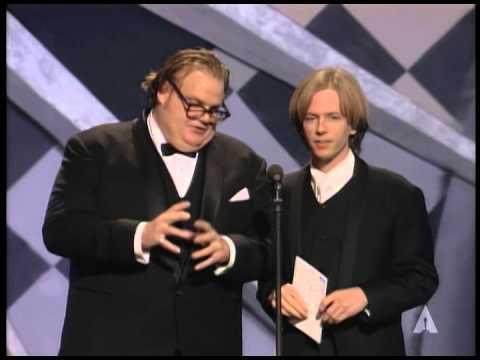 Chris Farley and David Spade at the Oscars® - YouTube
