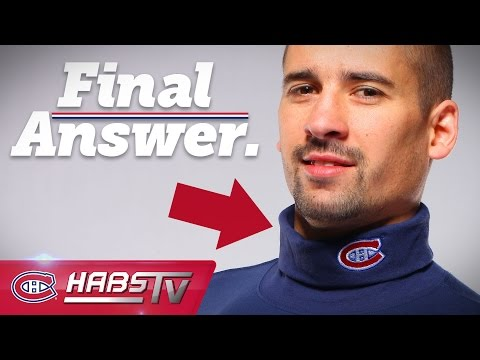 Why does Tomas Plekanec wear a turtleneck?