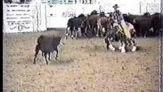 amazing cutting horse