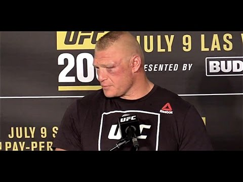 Brock Lesnar Would Like to Fight Cain Velasquez Again (UFC 200, Post)