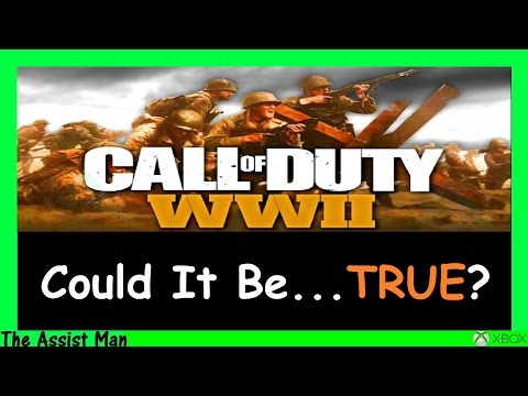 Call Of Duty 2017 Is Called WW2 - World War 2? - This Could Be Good AND Bad! BO3 Gameplay