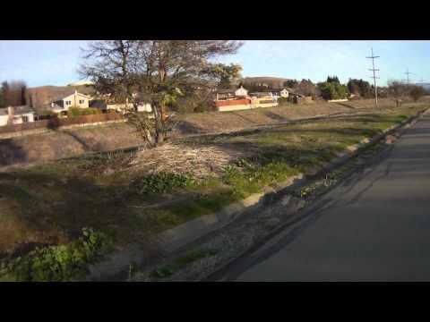 Iron Horse Regional Trail San Ramon to Dublin Bart Station Part 6