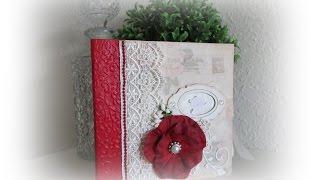 Från mitt hjärta - From my heart with Pion Design 6x6 mini album