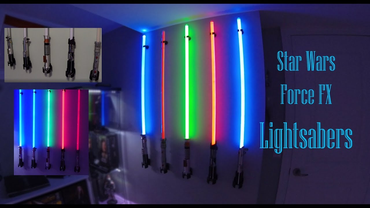 star wars force fx lightsaber reviews master replicas hasbro and