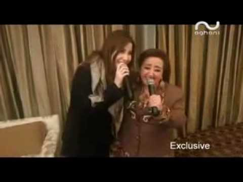 Nancy Ajram & Hiyam Younes