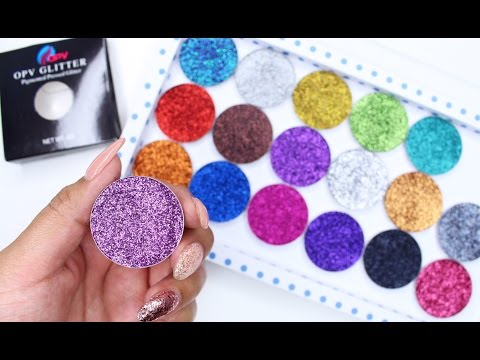 New OPV Pressed Glitter | SWATCHES