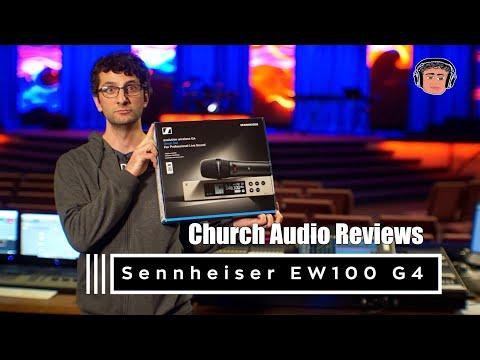 Sennheiser EW 100 G4 Wireless Mic Kit Review